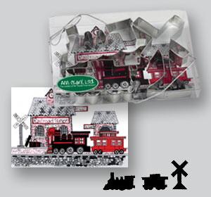 TrainCookieCutters
