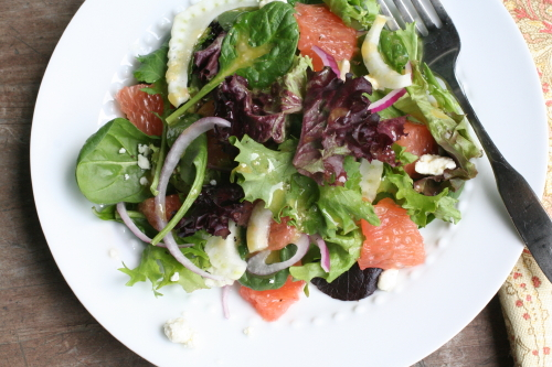 Grapefruit Fennel Salad_9977
