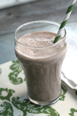 Choc Peanut Butter Smoothie_1476