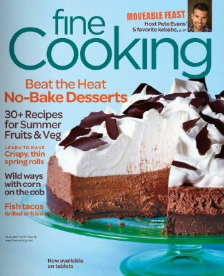 Fine Cooking Cover