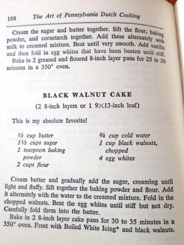 Black Walnut Cake - FOOD ON THE FOOD